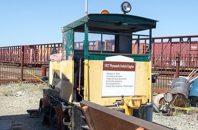 Coos Bay, Oregon Hist. Rail.  Plymouth Locomotive (#1115)