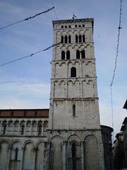 Tower of Saint Michael Church.