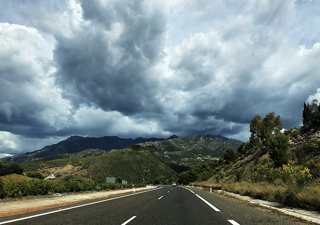 On The Road, Andalucia, Spain