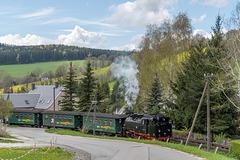 Fichtelbergbahn in Cranzahl