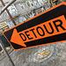 Detour or guide post?