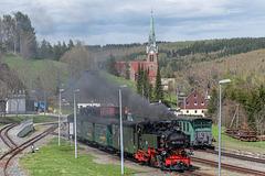 Im Bahnhof Hammerunterwiesenthal
