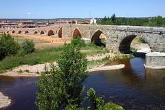 Pont de Hospital de Orbigo (Castille-et-León, Espagne)