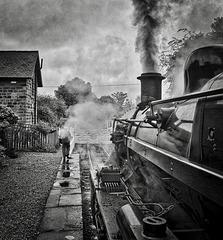 Ecclesbourne Valley Railway Idridgehay Derbyshire 19th July 2019