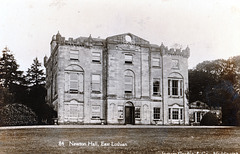 Newton Hall, East Lothian, Scotland (Gutted c1955 and blown up 1966)