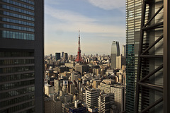 breakfast view to Tokyo Tower