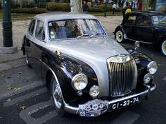 MG Magnette (1956).