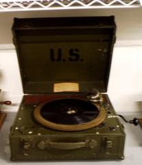 Militar turntable (U.S.A., 1939).