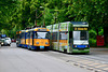Leipzig 2017 – LVB 2176 and 1123 passing each other