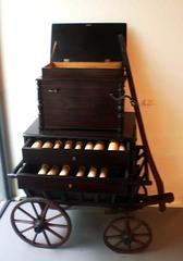 Street organ (Germany, 1890).