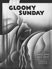 """Gloomy Sunday"" Sheet Music, 1933"