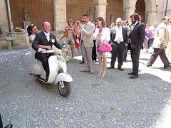 Just married ;-)...