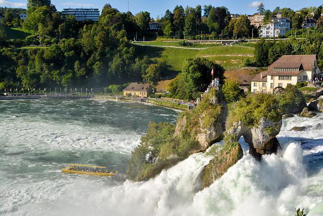 Schweiz-Rheinfall