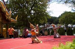 Buddhist dance.