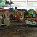 Abandoned amusement park in Yangon