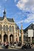 Erfurt, Fischmarkt mit Rathaus und Römersäule