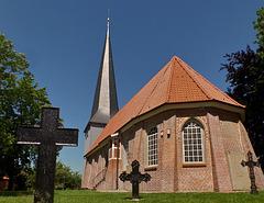 (2) Kirchen im Alten Land: Jork / Borstel-St. Nikolai