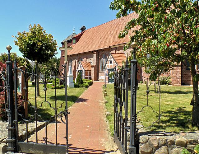 (3) Kirchen im Alten Land: Mittelnkirchen-St. Bartholomäus