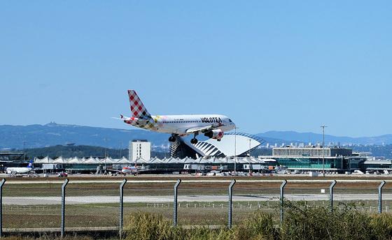 Colombier-Saugnieu (69) 26 août 2018. Aéroport Saint-Exupéry (Lyon).