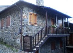 Village house.