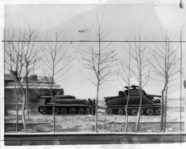 Tanks in Iran