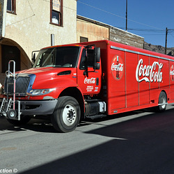 coca cola ih durastar straight truck oatman az 10'16