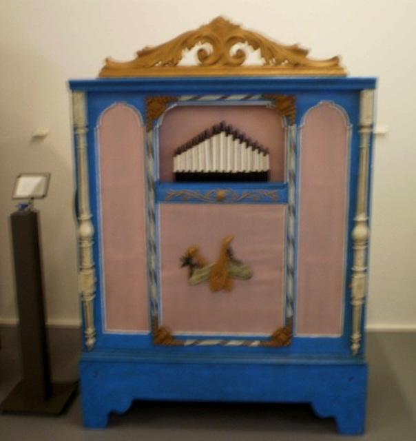 Barrel organ (Germany, 1856).