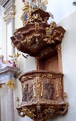 DE - Brühl - Pulpit at St. Maria von den Engeln