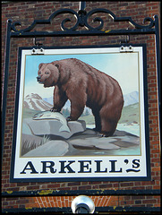 Arkell's Bear sign