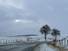 """Sur  """"les hauts"""" Ambiance hiver"""