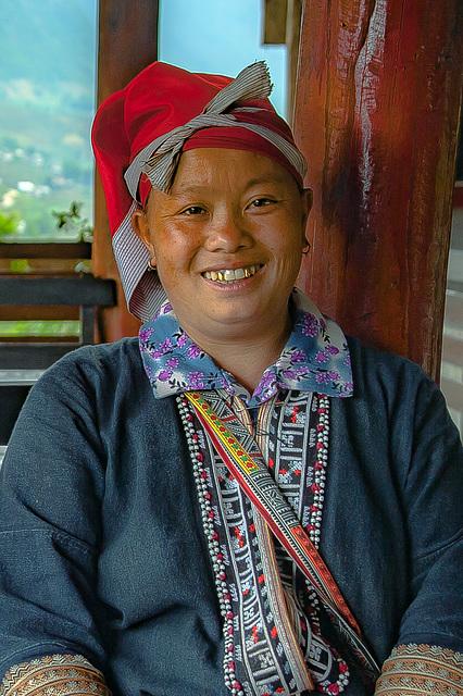 Red Dao woman Xing Thong