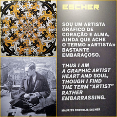 M.C.ESCHER Exhibition, Lisbon, 24 November 2017-27 May 2018