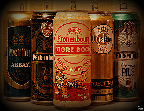 J'aimeeeeeeeeee, les bières...la la la la, j'aime les bières.....et ça se voit.!