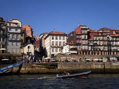 Terreiro Square, on Porto riverside.