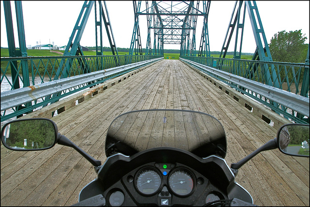 Becancour River Bridge, Quebec