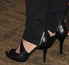 Ralph Lauren black high heels