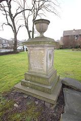 Rev. Benjamin Firth Memorial, Westfield United Reformed Church, Wyke, Bradford, West Yorkshire