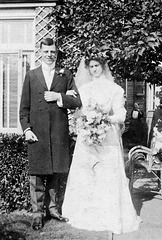 Edwin Hellyer and Jennie Smith, 1908