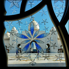 # 6 - Out of a window in Zayed mosque - Abu Dhabi - 9 v. (105)