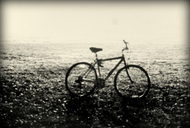L' est pas bôô mon vélo....