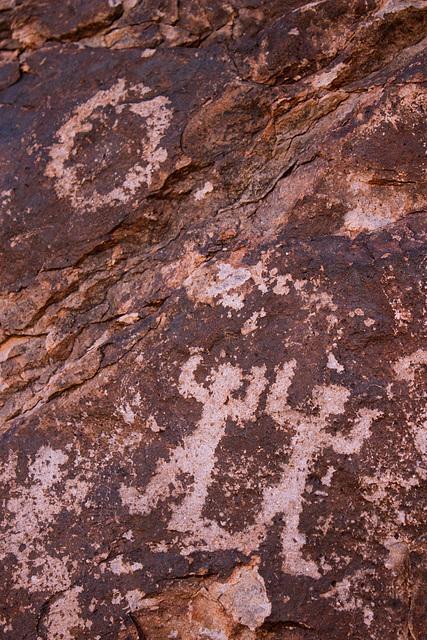 Hohokam Petroglyphs on Hayden Butte