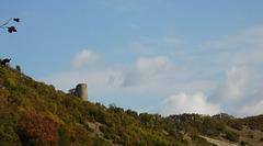 La tour du diable au dessus-de chez moi...