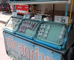 Brochettes de rue / Street's kebabs