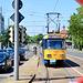 Leipzig 2019 – Große Leipzig-Stadtrundfahrt mit der Straßenbahn – View of LVB 2181 on a transfer trip