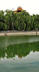 Forbidden City moat and wall
