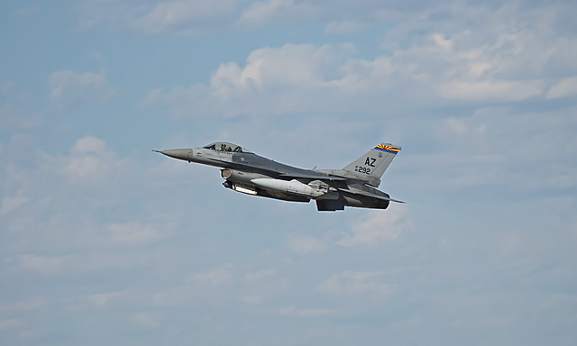 162nd Fighter Wing General Dynamics F-16C 86-0292