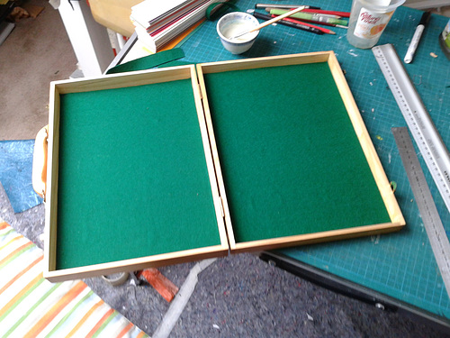 Billard Table Cloth in the box