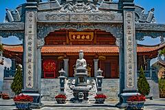 Bao An Pagoda temple at Fansipan bottom station