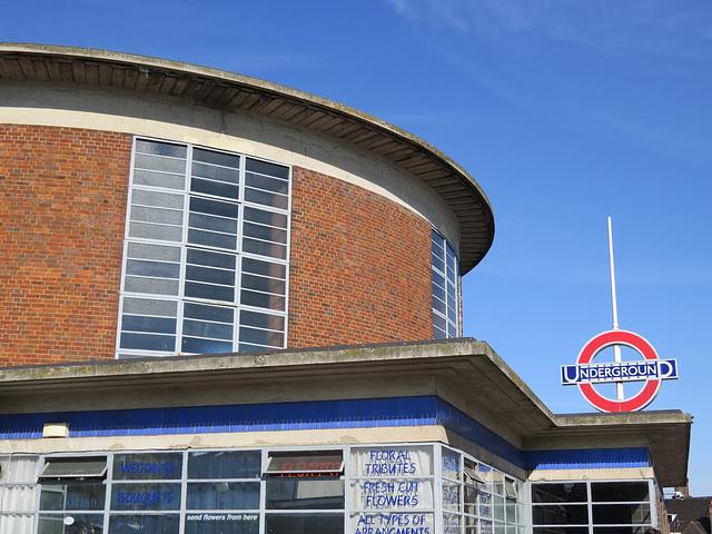 arnos grove tube station, london