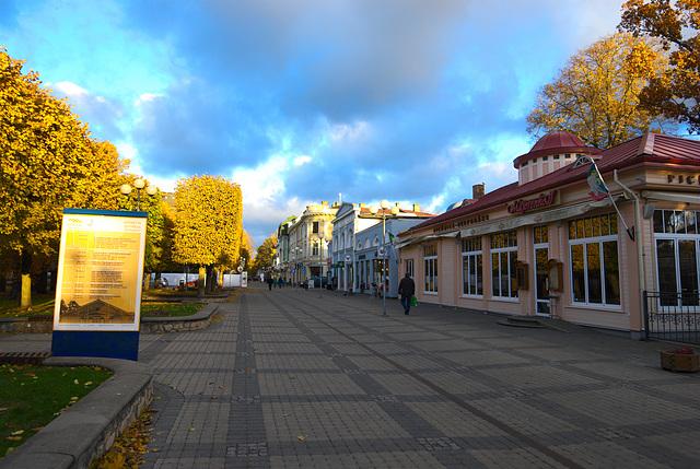 Jomas-Straße in Jūrmala